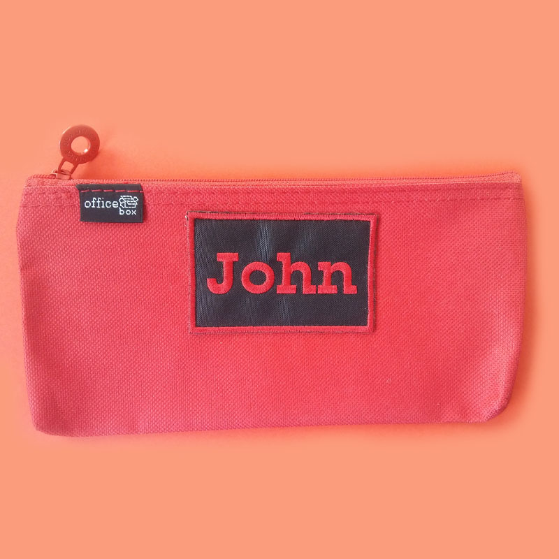 personalized pencil case hfg labeling services